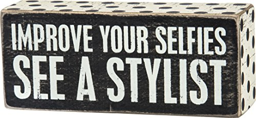IMPROVE YOUR SELFIES STYLIST Sign product image