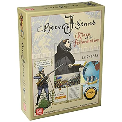 Here I Stand Board Game: Toys & Games