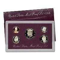 1988 S US Mint Proof Set Embalaje original del gobierno