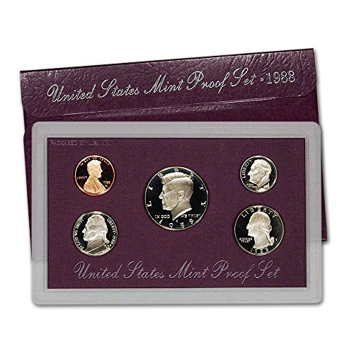 (1988 S US Mint Proof Set Original Government Packaging)