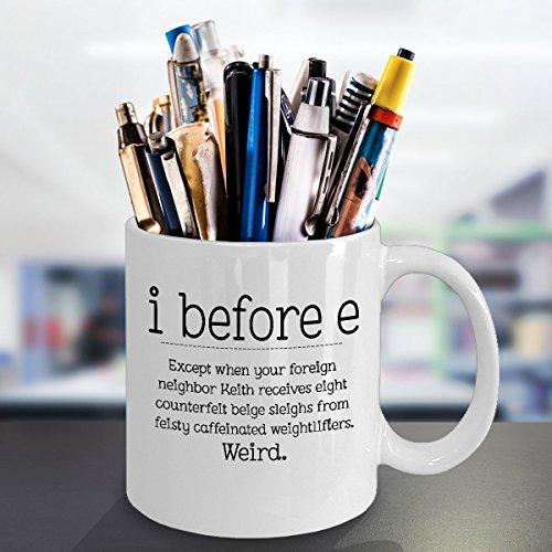 weird office supplies. i before e - funny grammar mug 11oz great gift for teacher: amazon.ca: home \u0026 kitchen weird office supplies f