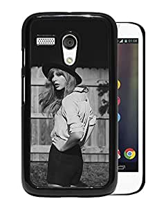 Unique Designed Cover Case For Motorola Moto G With Hd Tayler Swift Dark Yard Singer Music Sexy Phone Case