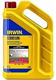 IRWIN Tools STRAIT-LINE Standard Marking Chalk, 5-pound, Red (65102)