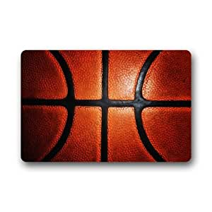 "Yestore Custom Sports Basketball 15.7""(W) x 23.6""(H) Non-woven Fabric Multifuntional Doormat"