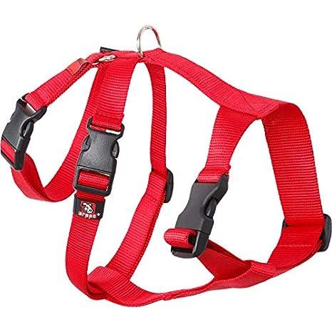arppe 196222530001 Arnés Nylon Basic Triple Galgos y Podencos, Rojo: Amazon.es: Productos para mascotas