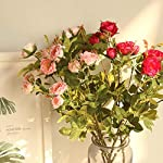 MARJON-FlowersArtificial-Flowers-Petals-Feel-and-Look-Like-Fresh-Peony-Floral-Artificial-Flower-Bouquet-Floral-Arrangement-Perfect-for-Wedding-Bridal-Party-Home-Office-Dcor-DIY-Red