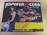 Jennifer Jo Cobb - NASCAR - Racing Photo Card (8.0 in. x 10.0 in.) - (Camping World - Truck #10)