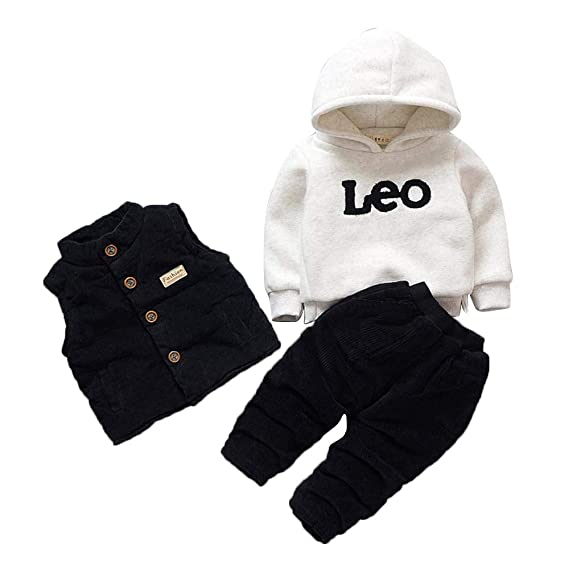 b2378ecdc Aidixiong Boys   Girls Poly Cotton Layering Set in Black Colour for ...