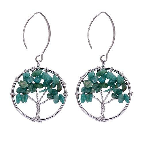 Sedmart pendant Amethyst Earrings Gemstone