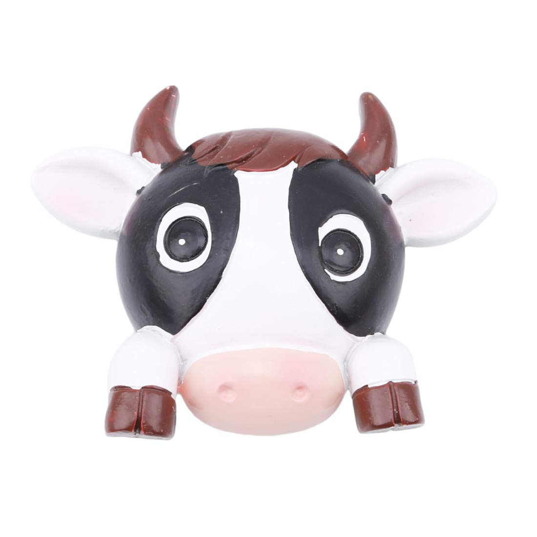 LGJJJ Switch Sticker Dairy Cow Wall Sticker Creative Resin Animal Switch Sticker Switch Decor Decals Lovely Cute Cartoon Vinyl Wall Switch Sticker