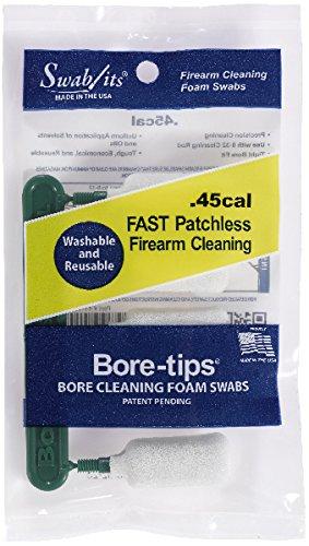 (SWAB-ITS Bore Tip .45 Cal 5 Pk)