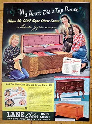 1941 Lane Cedar Hope Chest-Spring Special $29.75-Original 13.5 * 10.5 Magazine Ad