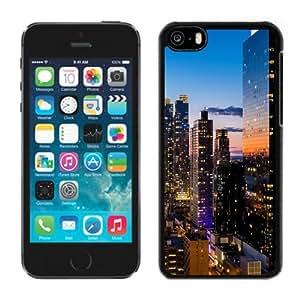 Beautiful Custom Designed Cover Case For iPhone 5C With New York Skyscrapers Phone Case WANGJING JINDA