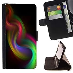 Momo Phone Case / Flip Funda de Cuero Case Cover - Weave Violet 420 - Samsung Galaxy A5 ( A5000 ) 2014 Version