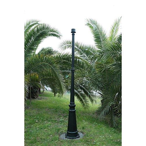Luxury Black 71.54-in Post Light Pole Lamp Post