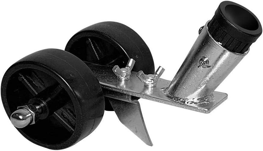 Dettelin Attrezzo per la rimozione di Erbacce e Radici in Posizione eretta da Giardino con Manico Lungo Spazzola per Accessori per diserbo