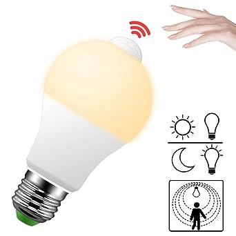 Led Lampe Mit Bewegungsmelder E27 Bewegungsmelder Innen Pir Sensor