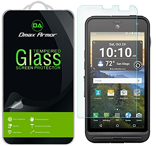 2 Pack  Kyocera Duraforce Xd Screen Protector  Dmax Armor  Tempered Glass  0 3Mm 9H Hardness  Anti Scratch  Anti Fingerprint  Bubble Free  Ultra Clear