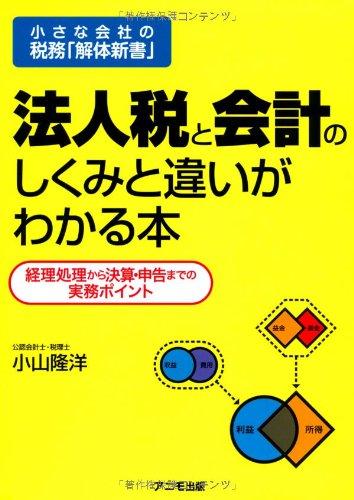 Download Hōjinzei to kaikei no shikumi to chigai ga wakaru hon : Chiisana kaisha no zeimu kaitai shinsho ebook
