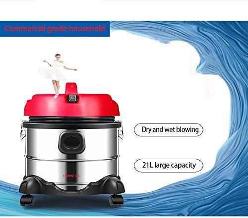Aspirador de uso doméstico potente y de alta potencia, seco y húmedo, pequeño, portátil, aspirador para hotel T3143R: Amazon.es: Bricolaje y herramientas
