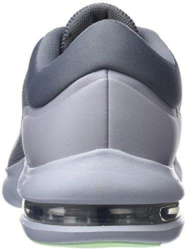 Nike Air Max Mens Vantaggio Scarpa Da Corsa Freddo Grigio / Lupo Grigio / Nero / Vapore Verde