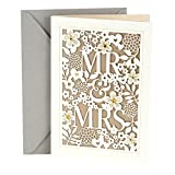 Hallmark Wedding Greeting Card (Mr. & Mrs.)
