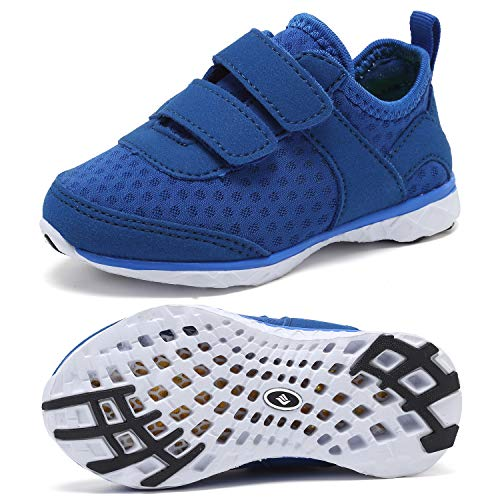 CIOR Toddler Water Shoes Swim Shoes Boy and Girl Aqua Shoes Kids Sport Sneakers Light Weight Walking Shoes]()