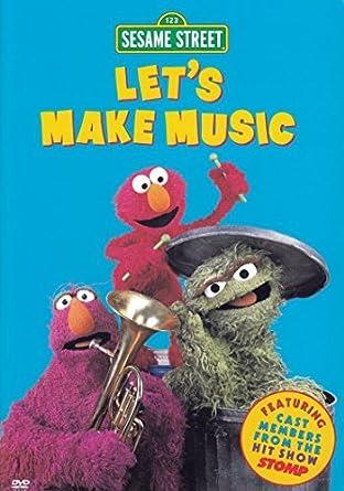 Amazon com: Sesame Street - Let's Make Music: Carlo Alban, Alan