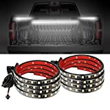 AUTUNEER 60Inch LED Truck Bed Lights, 2PCS White Truck Bed LED Strip Light