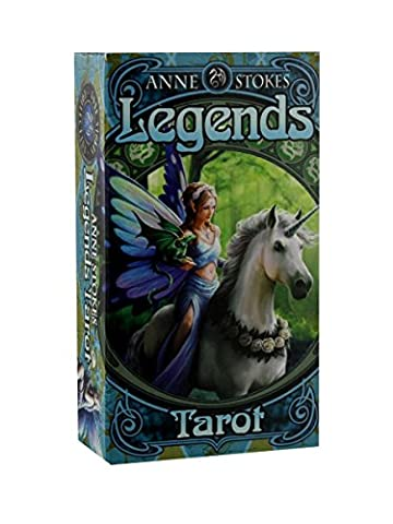 Anne Stokes Legends Tarot Cards by ANNE STOKES (Spanish Cards Tarot)