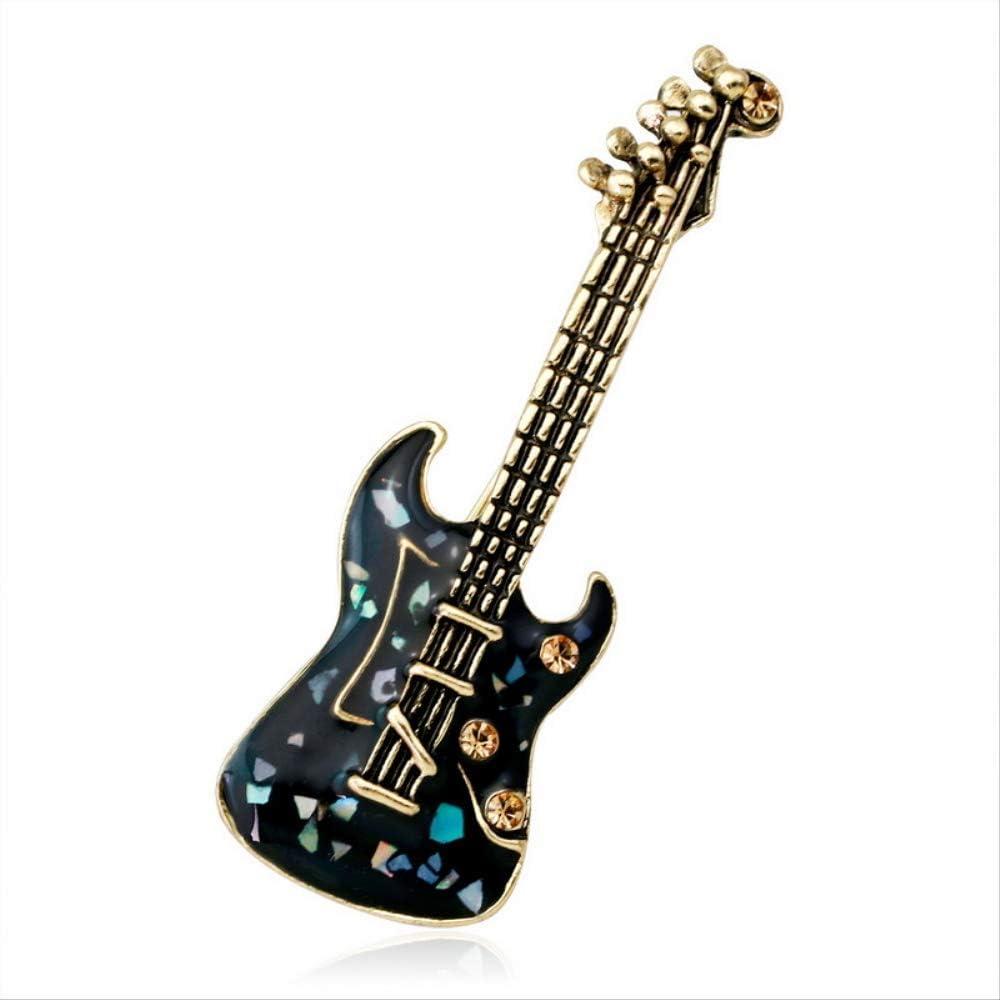 Zdfdfshj Concha Negra Guitarra Broche Instrumento Musical Notas ...