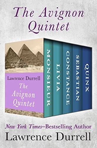 The Avignon Quintet: Monsieur, Livia, Constance, Sebastian, and Quinx