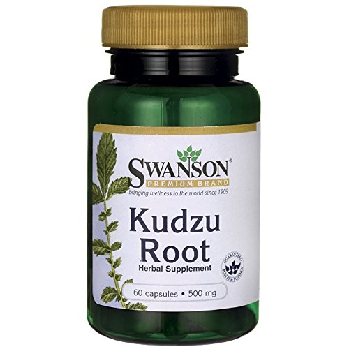 Swanson Kudzu Root Cardiovascular Liver Health Supplement 500 mg 60 Capsules ()