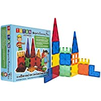 Tytan Magnetic 100-Piece Learning Tiles Building Set