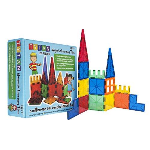 Tytan Magnetic Learning Tiles Building Set (100...
