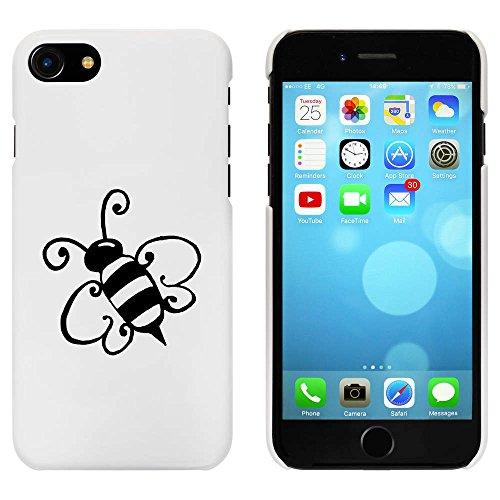 Blanc 'Bourdon' étui / housse pour iPhone 7 (MC00072510)