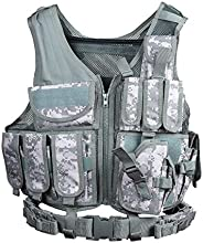 Goetland 600D Polyester Tactical Vest Outdoor Ultra-Light Combat Training Vest CS Adjustable S-XXL