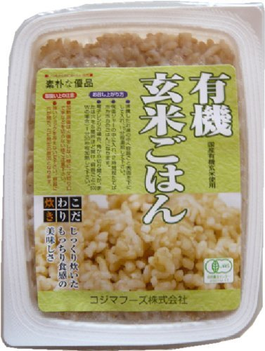 Kojima Foods organic brown rice rice <160g> 20 Kekesu sale