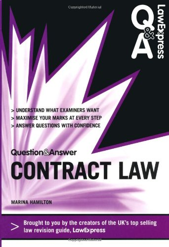 Law Express Question and Answer: Contract Law (Q&A Revision Guide) (Law Express Questions & Answers) por Marina Hamilton