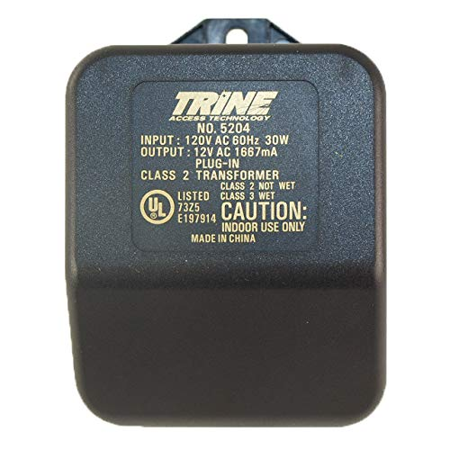 Trine #5204 Black 12VAC Plug In Type Transformer With 120 Volts Primary AC by Trine (Image #2)