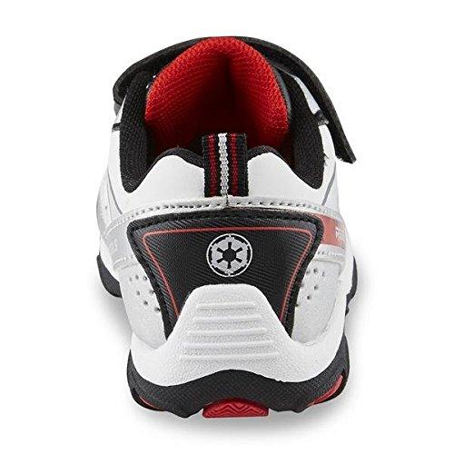 Star Wars Kinder Jungen Turnschuhe Stormtrooper Rebells Schuhe Storm Trooper weiß schwarz