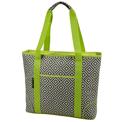 (Picnic at Ascot Extra Large Insulated Cooler Bag, Granite)