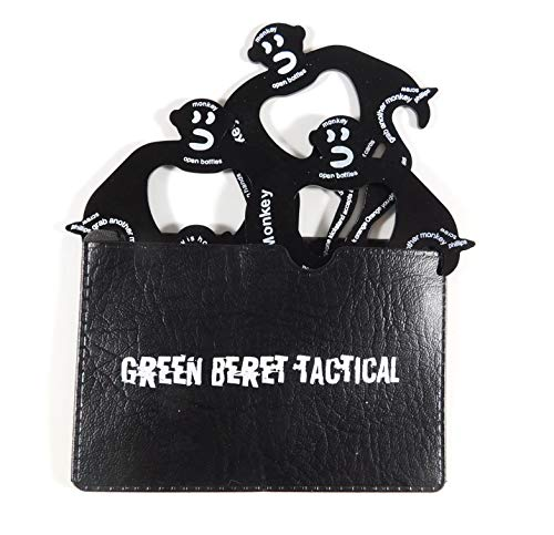 - Lot of 3 Monkey Multi Tools | Credit Card Pocket and Wallet Multitool Card | 15 in 1 | EDC
