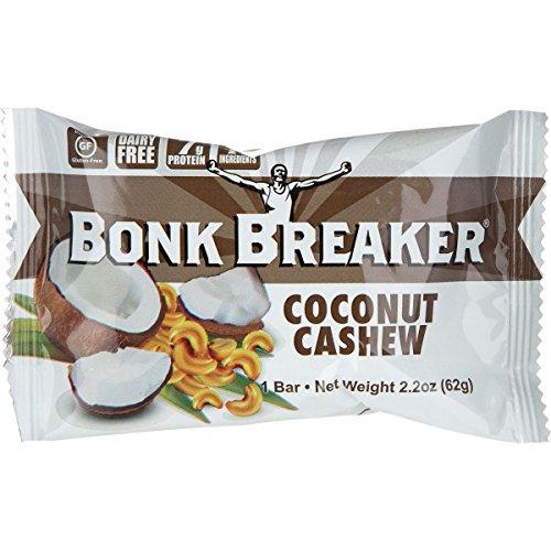 Bonk Breaker Energy Bar – Coconut Cashew – 2.2 Oz – Case Of 12