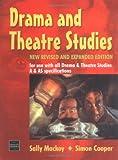 Drama and Theatre Studies, Sally Mackey and Simon Cooper, 0748751688