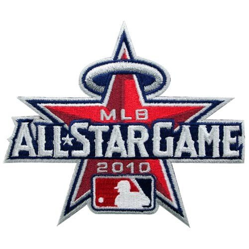 2010 MLB Official All Star Baseball Jersey Sleeve Patch Los Angeles Angels