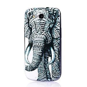 SHOUJIKE Elephant Pattern Thin Hard Case Cover for Samsung Galaxy S3 I9300