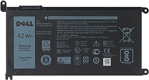 DELL WDXOR Laptop Battery for Dell Inspiron 13 7378 7368 5379 5378 5368 15 7579 7570 7569 7560 5578 5568 5567 5565 17 5770 5767 5765 Latitude 3189 3480 3580 3379 Vostro 14 5468 15 5568 11.4V 42W