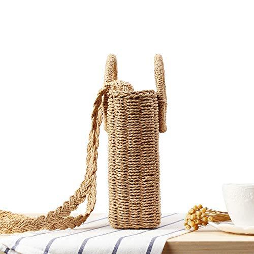 tissage cocktails main Zxlife mariages réunions pour Sac fériés de vacances tissé capacité et à tissé jours la qualité de paille haute pure autres grande xTqYzTfrw