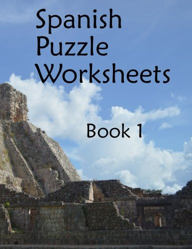 Counting Number worksheets free us history worksheets : Spanish Puzzle Worksheets: Book 1 (Printable Spanish): Fran ...